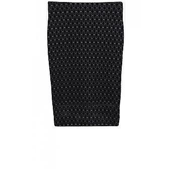Taifun Black Embossed Skirt