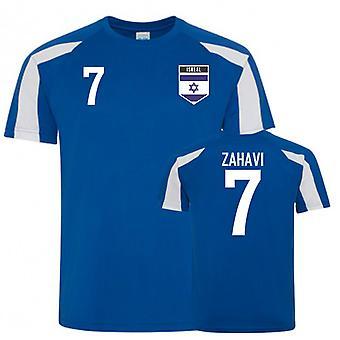 Asuu nyt paikkakunnalla Israel Sports Training Jersey (Zahavi 7)