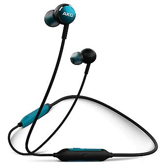 Bluetooth Earbuds Mic /Remote Control Button 8H Battery Life Y100- AKG Turquoise
