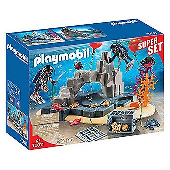 Playset City Super Set Action Diving Unit Playmobil 70011 (56 st)