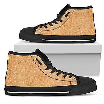 Wysokie buty | Nadruk korkowy