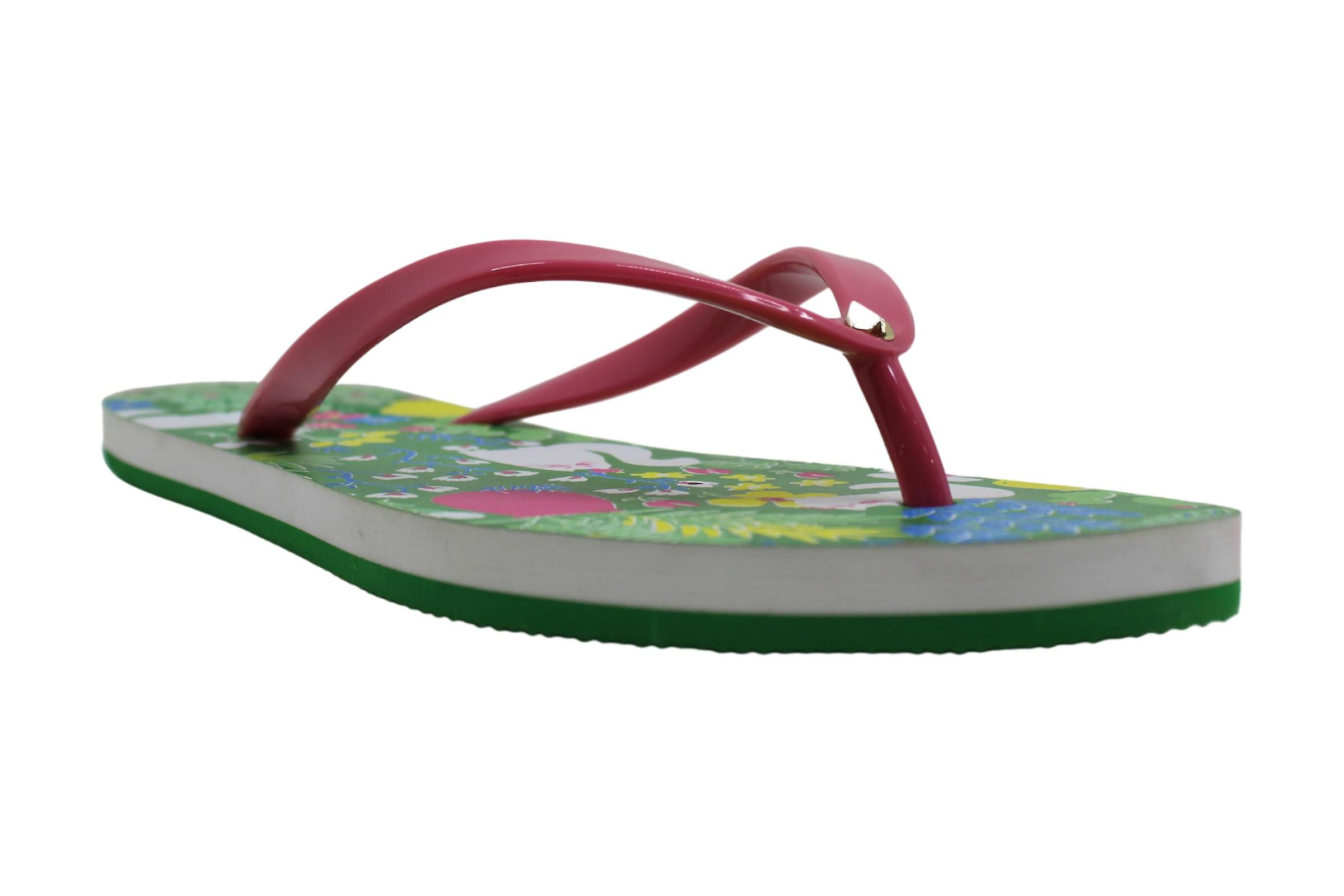 Kate Spade New York Womens S0810001 Tkanina Open Toe Casual Slide Sandały k6dLY
