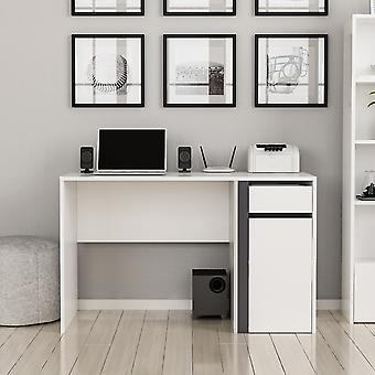 Shae White Color desk, Antrazoto em Chip Melaminic 120x60x74 cm