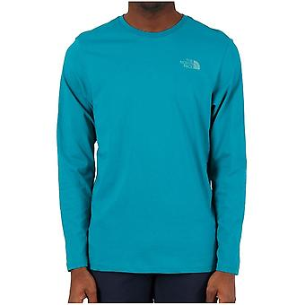 ノースフェイスイージーT92TX1H1HユニバーサルオールイヤーメンTシャツ
