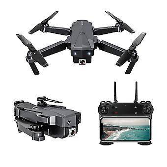 Hd aerial folding drone with switchable optical flow dual cameras