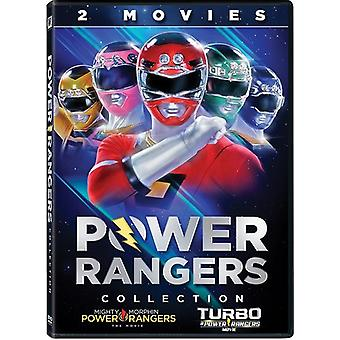 Power Rangers: 2 Movies Collection [DVD] USA import