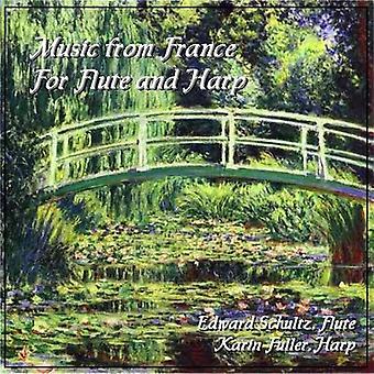 Edward Schultz & Karin Fuller - Music From France for Flute & Harp [CD] USA import