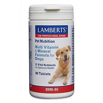 Lamberts Multi Vitamin and Mineral for Dogs Tablets 90 (8999-90)