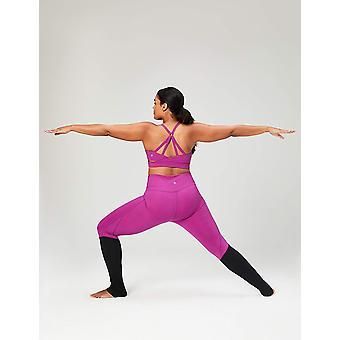 Core 10 Frauen's Icon Series - Die Ballerina Sport-BH, violett, klein