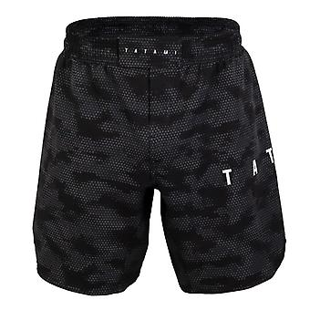 Tatami Fightwear Standard Edition Digital Camo Grapple Fit Shorts Negro