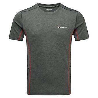 Montane Men's Dart Short Sleeve T-Shirt Dark Shadow