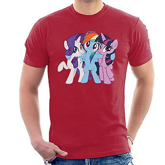 My Little Pony Team Hug Men's T-Shirt