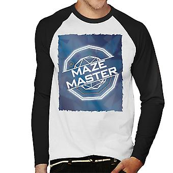 The Crystal Maze Full Colour Men's Baseball Long Sleeved T-Shirt