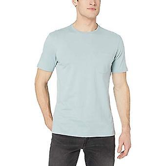 Goodthreads Men's Short-Sleeve Sueded Jersey Crewneck Pocket T-Shirt, Light A...