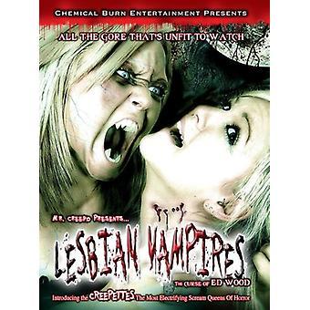 Lesbian Vampires: The Curse [DVD] USA import