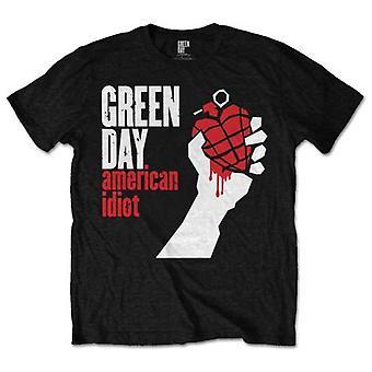 Groene dag Amerikaanse T-shirt