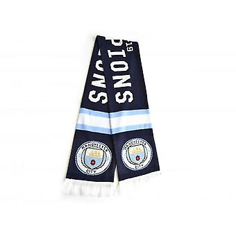 Manchester City FC Champions Official 2018/19 Scarf