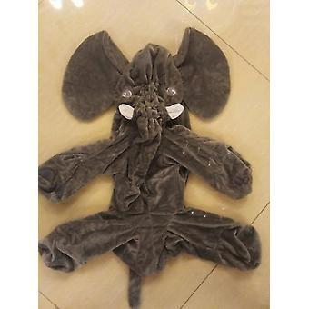 Travesseiro de pelúcia de elefante macio infantil para dormir