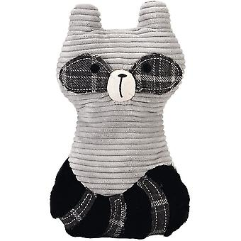 Designed By Lotte Textile Toy Lirca Raccoon - Grey - 25.5cm