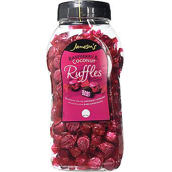 Jamesons Raspberry Ruffles 1.5kg jar