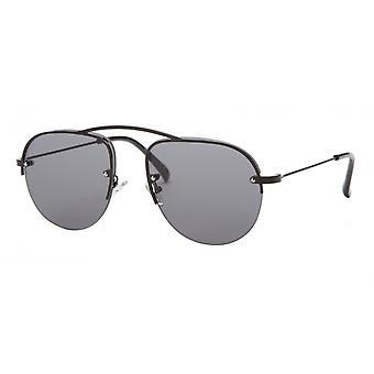 النظارات الشمسية Unisex Cat.3 أسود / دخان (aml19012c)
