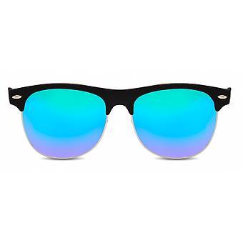 Okulary przeciwsłoneczne Unisex Wanderer czarny/niebieski (CWI668)