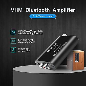 Vhm338-mini Bluetooth 5.0 Digital Amplifier Hifi-stereo Wireless Audio-receiver Power Amp 100w+100w Car Sound-amplifiers