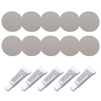 Repair Kit Including Adhesive And Patches For Inflatable, Pvc, Pu Leather And