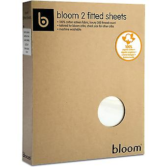 Bloom Retro 2-Piece Fitted Sheet Set