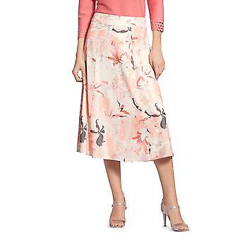 باسلر | تنورة طباعة الأزهار