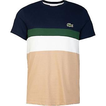 Lacoste Sport Colour Block Large Logo T-Shirt