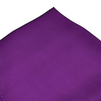 Banden Planeet Plain Purple Silk Pocket Square Zakdoek
