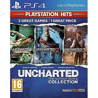 Uncharted The Nathan Drake Collection PS4 (Playstation Hits)