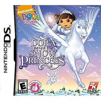 Dora The Explorer Dora Saves the Snow Princess Nintendo DS Game