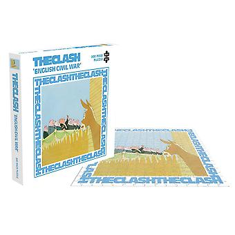 The Clash Jigsaw Puzzle English Civil War Cover new Official 500 Piece