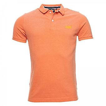 Superdry Classic Pique S/S Polo Dusky Coral 3AQ