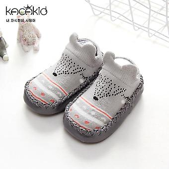 Baby Walking Socken Winter Verdickung Boden Cartoon Kinder Jungen Mädchen Anti-Skid
