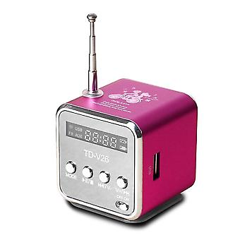 Mini-radio-receptor, Digital Portabil Radio / fm Cu Usb-spearkers