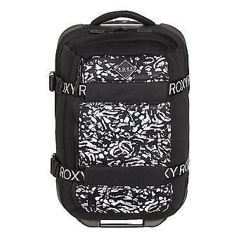 Roxy Wheelie Neoprene Carry-On Suitcase - True Black Izi