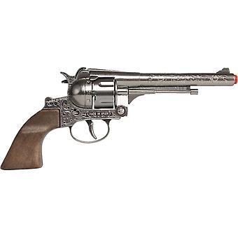 CAP GUN - 122/0 - Gonher Cowboy Revolver 12 Schüsse