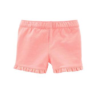 Simple Joys by Carter's Baby Girls' Toddler 3-Pack Knit Shorts, Pink.Gray, Na...