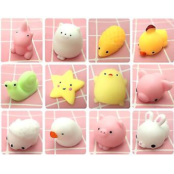 10pcs Of Cute Slow Rising, Squishy Fun Toy-different Designs