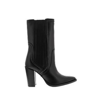 Bronx nilkka saapas musta 34162A01 kenkä