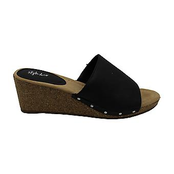 Tyyli & Co. Naiset's Kengät Carini Peep Toe Casual Platform Sandaalit