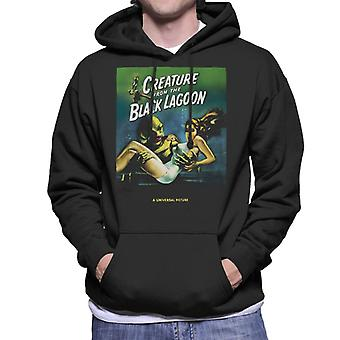 The Creature From The Black Lagoon Carrying Kay Men's Hooded Sweatshirt