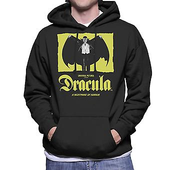 Dracula Nightmare Of Horror Men's Hooded Sweatshirt