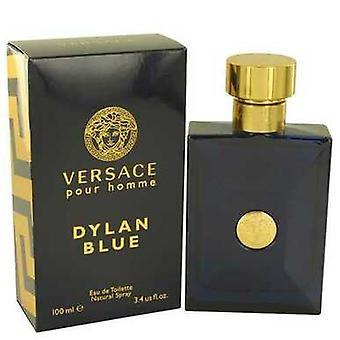 Versace Pour Homme Dylan Blue By Versace Parranajon jälkeen Voide 3,4 Oz (miehet) V728-539361