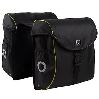 Willex Bicycle Bags 38 L Black and Yellow 16103