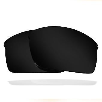 Ersatzlinsen für Oakley Wiretap Sonnenbrille Anti-Scratch Dark Black