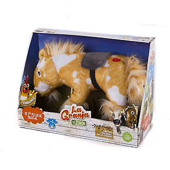Jucărie moale cu sunete Caballo Percheron en La Granja de Zen n Bandai (ES)
